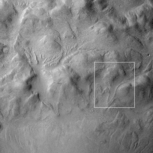 Context camera image from MRO
