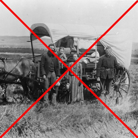 American homesteaders, wiped from history