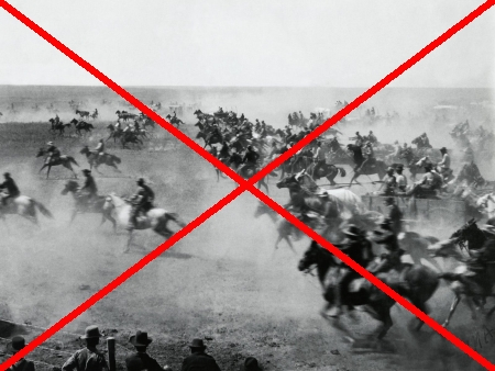 The Oklahoma Land Rush: cancelled