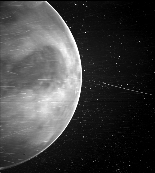 Venus as seen by the Parker Solar Probe
