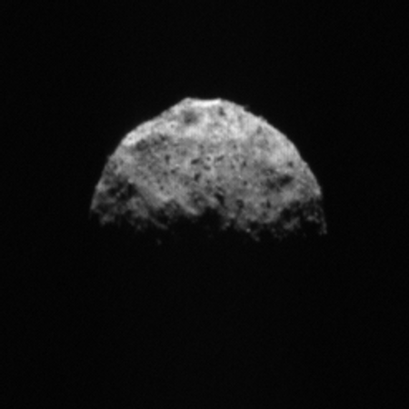 Approaching Bennu for the last time