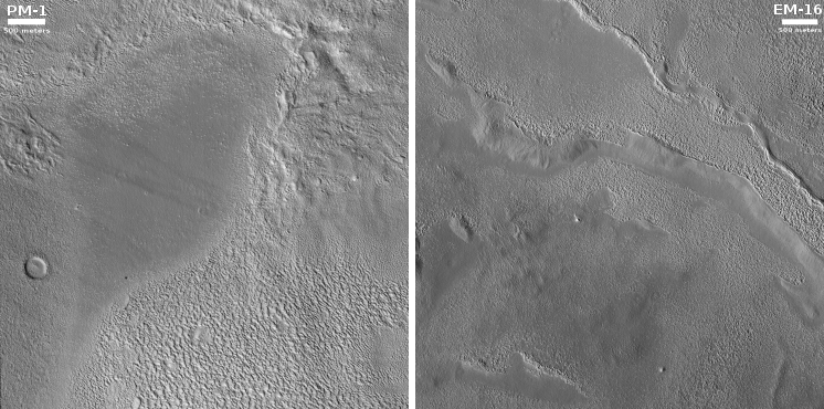 Prime Starship landing sites PM1 and EM16