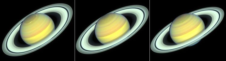 Saturn changing