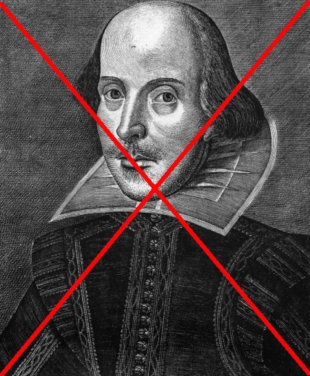 Shakespeare banned