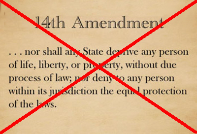 14th amendment banned
