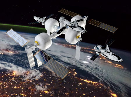 Sierra Nevada's proposed LIFE space station
