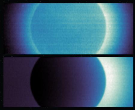 Atomic hydrogen in Mars' atmosphere, as seen by Al-Amal