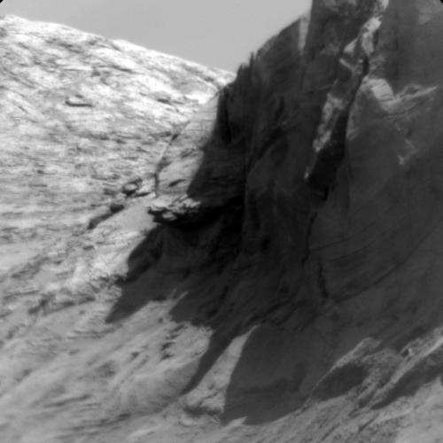 The Big Cliffs of Mt Sharp