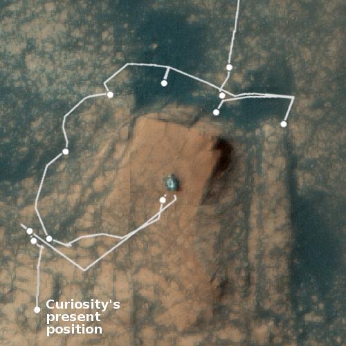 Curiosity as seen by MRO from orbit
