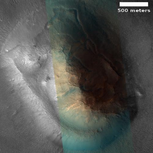 The non-face on Mars