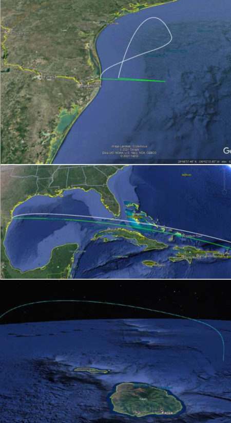 The flight plan for Starship's first orbital flight