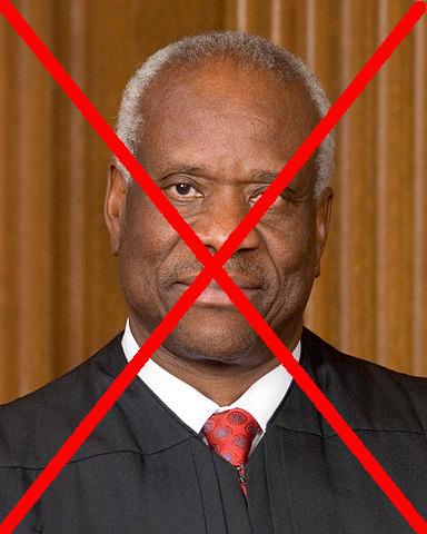 Clarence Thomas: Banned at amazon