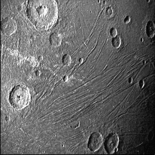 Ganymede as seen by Juno