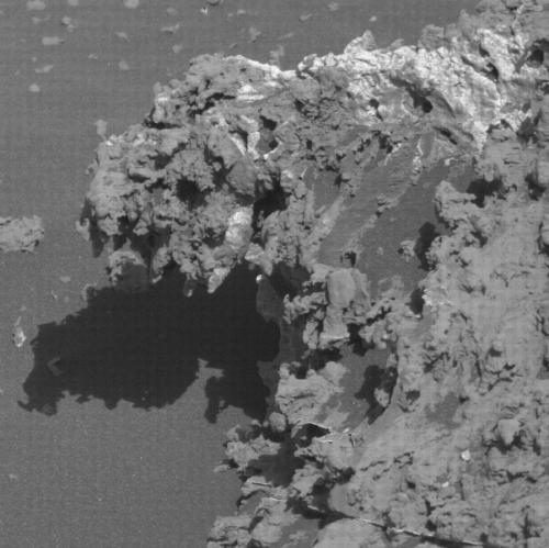 Lacy rocks on Mars