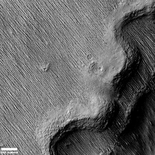Wind swept plains of Mars