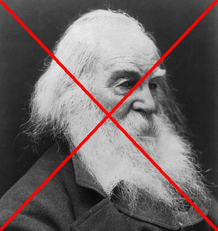 Walt Whitman, banned