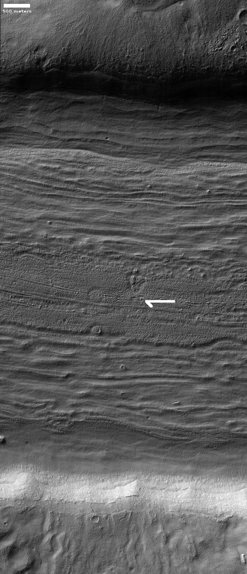 Glacial flow on Mars?