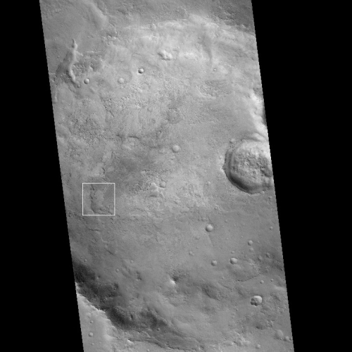 Context camera view of entire crater