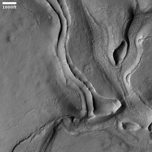 Glacial ice sheets on Mars?