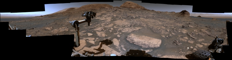 360 degree hi-res panorama from Curiosity