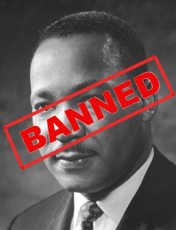 King's dream banned at UCLA