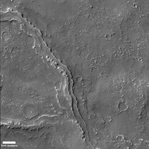 Inverted Channel on Mars